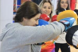 bayan boks derslerimiz